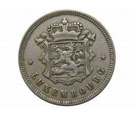 Люксембург 25 сантимов 1927 г.