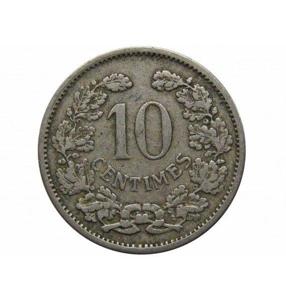 Люксембург 10 сантимов 1901 г.
