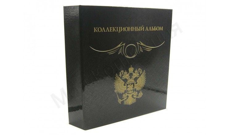 """Альбом """"Коллекционный"""", серия """"Black"""", без листов, стандарт """"OPTIMA"""""""