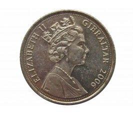 Гибралтар 10 пенсов 2006 г.