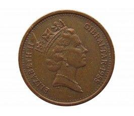 Гибралтар 2 пенса 1988 г. AB