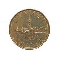 Канада 1 доллар 1992 г. (Парламент)
