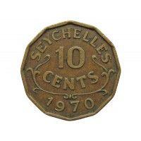 Сейшелы 10 центов 1970 г.