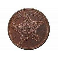 Багамы 1 цент 2001 г.