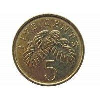 Сингапур 5 центов 2012 г.