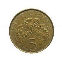 Сингапур 5 центов 1997 г.