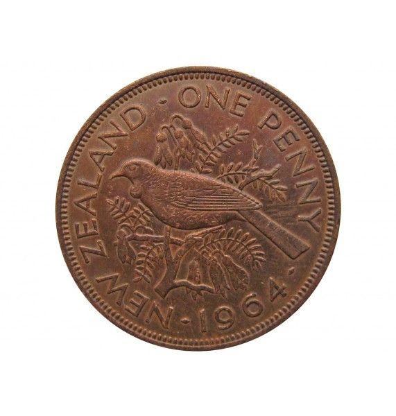 Новая Зеландия 1 пенни 1964 г.