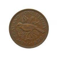 Новая Зеландия 1 пенни 1956 г.