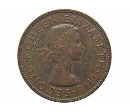 Новая Зеландия 1 пенни 1955 г.