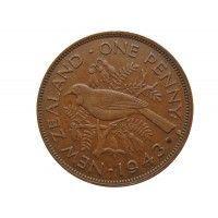 Новая Зеландия 1 пенни 1943 г.