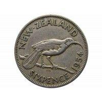 Новая Зеландия 6 пенсов 1954 г.
