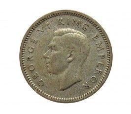Новая Зеландия 3 пенса 1939 г.