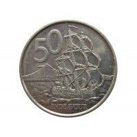 Новая Зеландия 50 центов 2006 г.