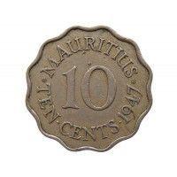 Маврикий 10 центов 1947 г.