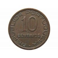 Мозамбик 10 сентаво 1942 г.