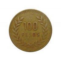 Колумбия 100 песо 1994 г.