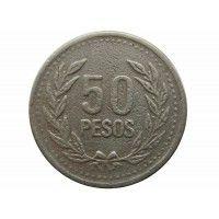 Колумбия 50 песо 1994 г.