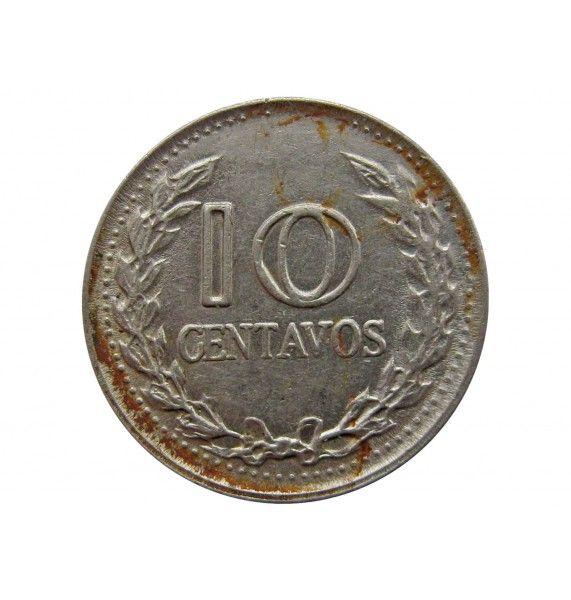 Колумбия 10 сентаво 1974 г.