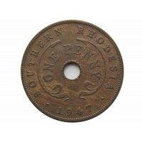 Южная Родезия 1 пенни 1947 г.