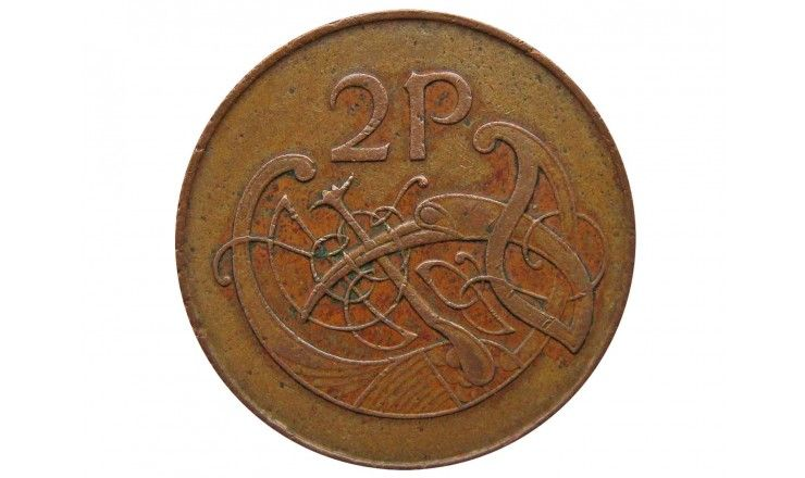 Ирландия 2 пенса 1971 г.