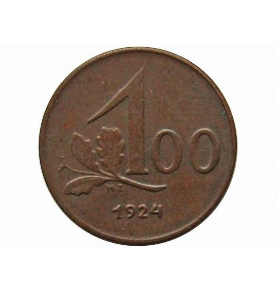 Австрия 100 крон 1924 г.