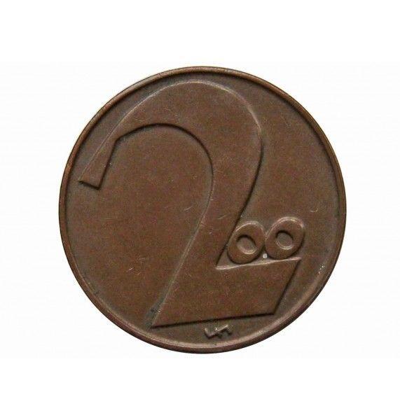 Австрия 200 крон 1924 г.