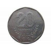 Коста-Рика 20 колон 1983 г.