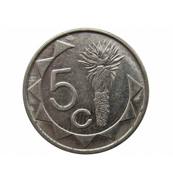Намибия 5 центов 2002 г.