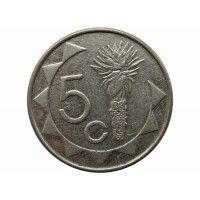 Намибия 5 центов 2009 г.