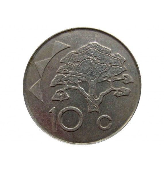 Намибия 10 центов 2012 г.