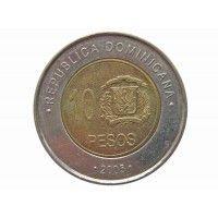 Доминиканская республика 10 песо 2005 г.