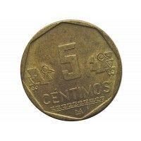 Перу 5 сентимо 2006 г.