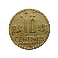 Перу 10 сентимо 2000 г.