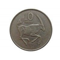Ботсвана 10 тхебе 1989 г.