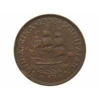 Южная Африка 1 пенни 1953 г.