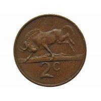Южная Африка 2 цента 1965 г.