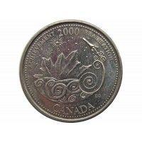 Канада 25 центов 2000 г. (Достижения)
