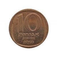 Израиль 10 новых агорот 1980 г.