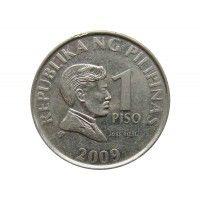 Филиппины 1 песо 2009 г.
