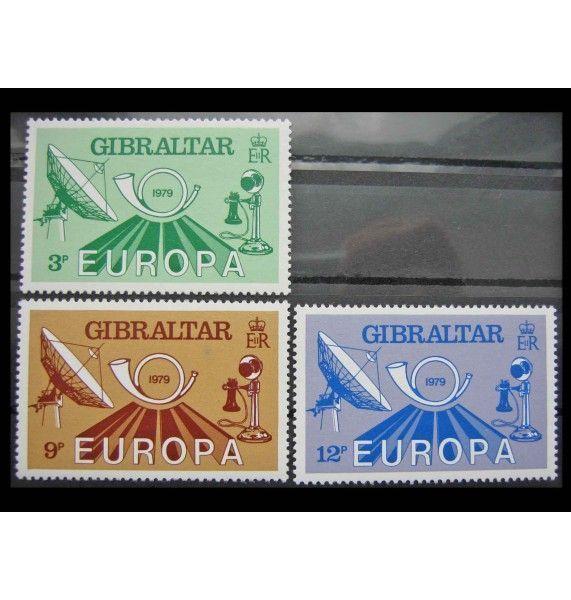 """Гибралтар 1979 г. """"Европа: История почты и телекоммуникаций"""""""