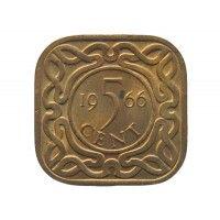Суринам 5 центов 1966 г.