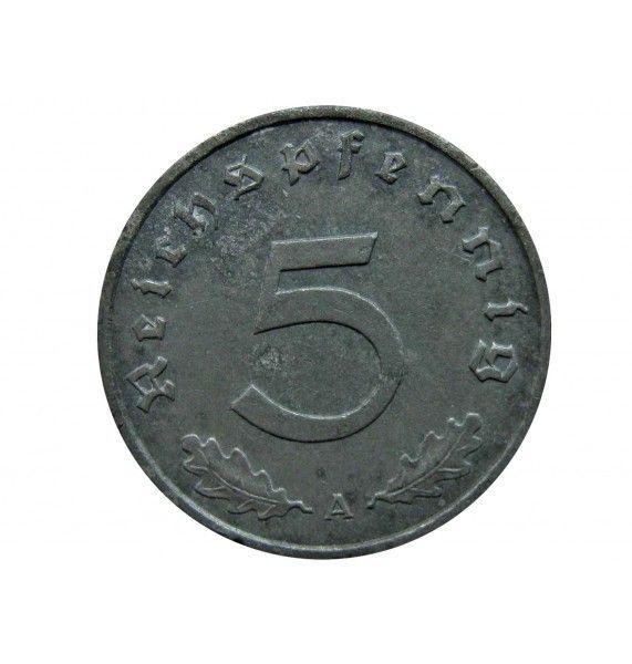 Германия 5 пфеннигов 1942 г. A