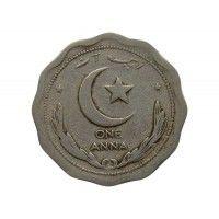 Пакистан 1 анна 1949 г.