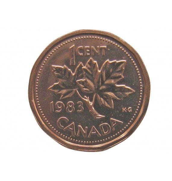 Канада 1 цент 1983 г.