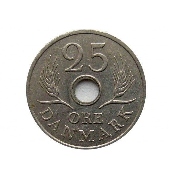 Дания 25 эре 1971 г.