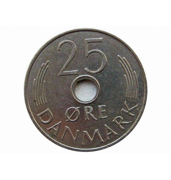 Дания 25 эре 1974 г.