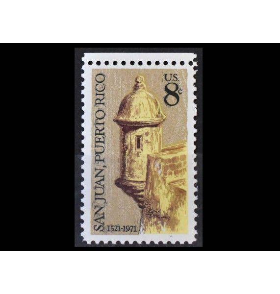 "США 1971 г. ""450 лет Сан-Хуану, Пуэрто-Рико"""