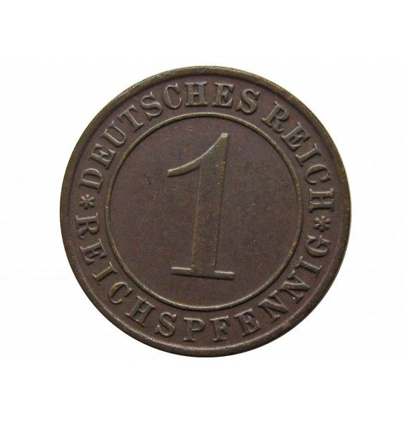 Германия 1 пфенниг (reichs) 1934 г. D