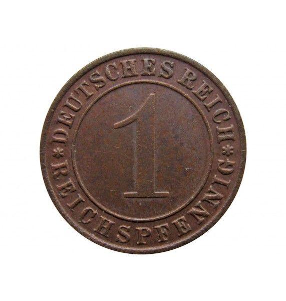 Германия 1 пфенниг (reichs) 1936 г. D