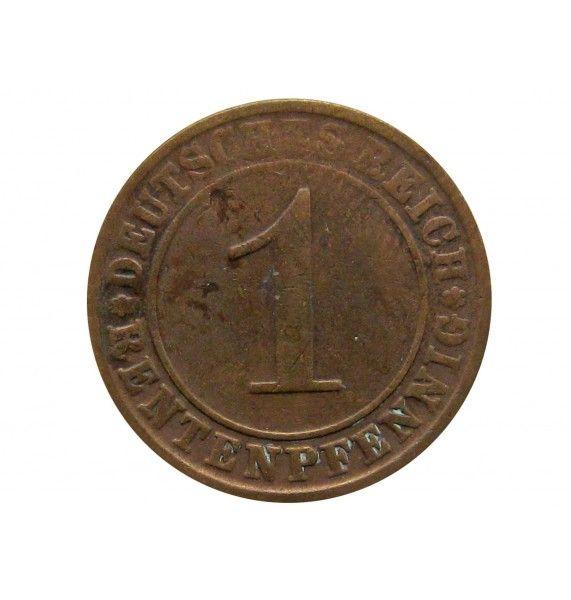 Германия 1 пфенниг (reich) 1924 г. A